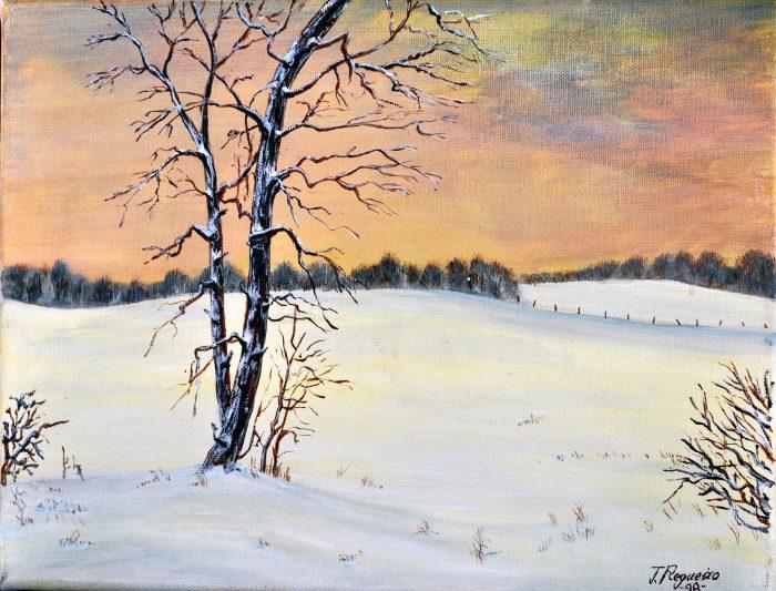 nevada cuadro Art Josep